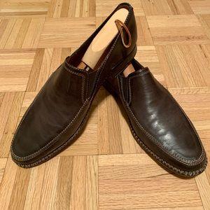 John Varvatos men's shoes Dark Brown Size 11